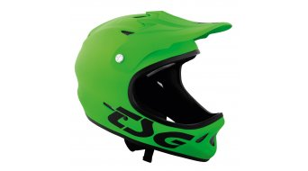 TSG Staten Solid Color DH-casco flat lime verde