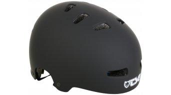 TSG Evolution Solid Color casco casco para niños tamaño XXS/XS flat negro