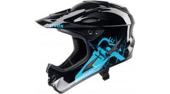 Uvex HLMT 9 bike Fullface DH- helmet shiny