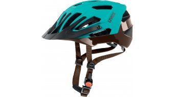 Uvex Quatro casco MTB mis. 56-61cm lightblue mat/brown
