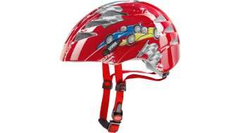 Uvex Kid 1 Helm Kinder-Helm Gr. 47-52cm cars red