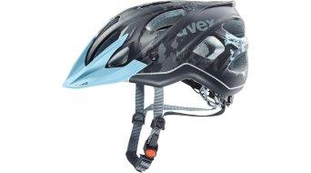 Uvex Stiva CC casco Señoras MTB casco tamaño 52-57cm negro/flower azul mat