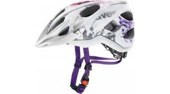 Uvex Stiva CC casco Señoras MTB casco tamaño 52-57cm blanco/flower pink mat