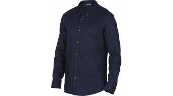 Oakley FP Slub Woven camisa manga larga Caballeros-camisa tamaño M peacoat (Slim Fit)
