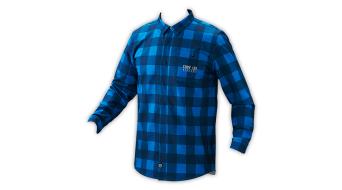 Troy Lee Designs Grind Flannel camisa manga larga Caballeros-camisa plaid