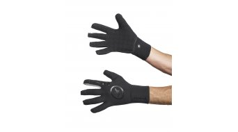 Assos rainGlove evo7 Handschuhe Black Volkanga