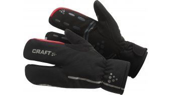 Craft Bike Thermal Split guantes largo(-a) negro/rojo