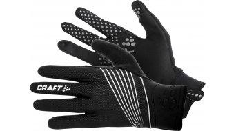 Craft Storm guantes largo(-a) negro/blanco