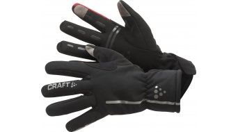 Craft Bike Siberian guantes largo(-a) negro/bright rojo