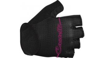 Castelli Dolcissima W guantes corto(-a) Señoras-guantes tamaño L negro/fucsia