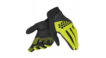 Dainese Guanto Rock Solid-D Handschuhe lang Gr. XXS black/fluo yellow/black