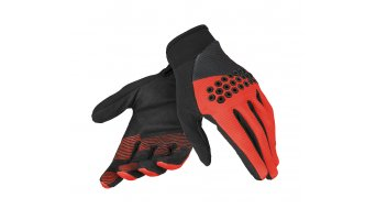 Dainese Guanto Rock Solid-D Handschuhe lang Gr. XXS black/red/black