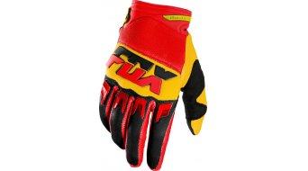 Fox Dirtpaw Mako guantes largo(-a) Caballeros MX-guantes Gloves tamaño 10 (L) amarillo
