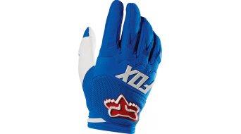 Fox Dirtpaw Race guantes largo(-a) Caballeros MX-guantes Gloves tamaño 10 (L) azul