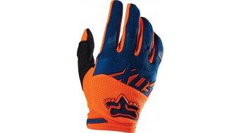 Fox Dirtpaw Race guantes largo(-a) Caballeros MX-guantes Gloves tamaño 8 (S) naranja/azul