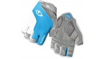 Giro Stradamassa Supergel guantes corto(-a) Señoras-guantes tamaño S azul jewel/blanco Mod. 2016