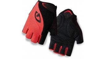 Giro Tessa Gel guantes corto(-a) Señoras-guantes coral/negro Mod. 2016