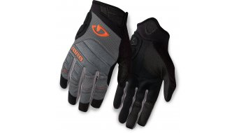 Giro Xen Handschuhe lang Gr. S titan/flame orange Mod. 2016