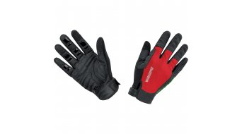 GORE Bike Wear Power Trail guantes largo(-a) MTB Windstopper Light tamaño 6 (S) negro/rojo