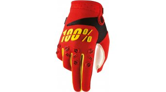 100% Airmatic Youth guantes largo(-a) niños-guantes MX Glove rojo