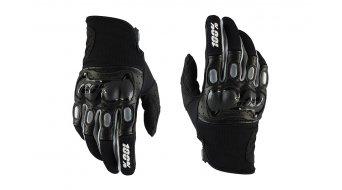 100% Derestricted Dual Sport Handschuhe lang Dowhnhill-Handschuhe MX Glove black/grey