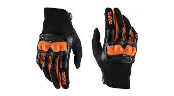 100% Derestricted Discovery Sport Handschuhe lang Dowhnhill-Handschuhe MX Glove black/orange