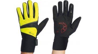 Northwave Sonic Long Handschuhe lang black/yellow fluo