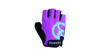 Roeckl Zeist guantes corto(-a) niños-guantes tamaño 6 purple