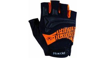 Roeckl Inobe Funktion Handschuhe kurz Gr. 6,5 schwarz/orange