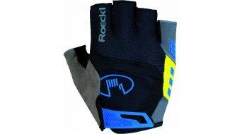 Roeckl Idegawa Funktion guantes corto(-a) tamaño 6,5 negro(-a)/amarillo(-a)
