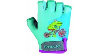 Roeckl Turda guantes corto(-a) niños-guantes tamaño 4 türkis