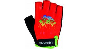 Roeckl Zenia guantes corto(-a) niños-guantes tamaño 6 fiesta rojo(-a)