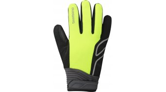 Shimano High-Visible Handschuhe lang neon gelb
