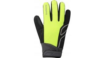 Shimano High-Visible gants long taille neon jaune