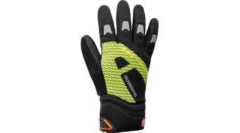 Shimano Windstopper Reflective guantes largo(-a) negro/color neón amarillo