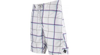 FOX Lloyd Plaid Boardshort size 28 white