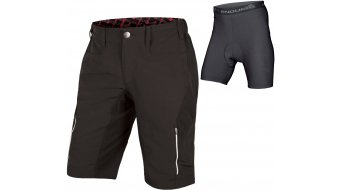 Endura Singletrack III pantalón corto(-a) Caballeros-pantalón MTB Shorts (incl. acolchado) tamaño S negro(-a)
