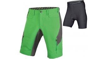 Endura Singletrack III pantalón corto(-a) Caballeros-pantalón MTB Shorts (incl. acolchado) tamaño S kellygrün