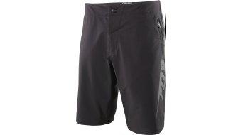 Fox Livewire pantalón corto(-a) Caballeros-pantalón Shorts (Evo-acolchado) negro/charcoal