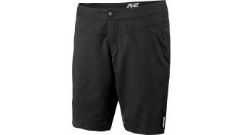 Fox Ripley pantalón corto(-a) Señoras-pantalón Shorts (Evo-acolchado) tamaño L negro/pink
