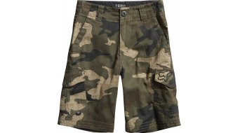 Fox Slambozo Cargo Camo pantalón corto(-a) niños-pantalón Boys Shorts verde camo