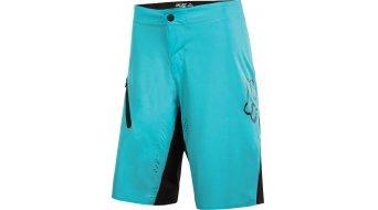 Fox Attack Ultra pantalón corto(-a) Caballeros-pantalón Shorts (Evo Race-acolchado) tamaño 36 ice azul