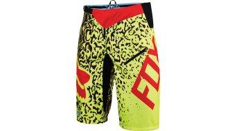 Fox Demo Cauz DH Hose kurz Herren-Hose Shorts (ohne Sitzpolster) flo yellow