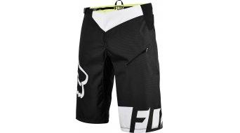 Fox Demo DH pantalón corto(-a) Caballeros-pantalón Shorts (sin acolchado) negro/blanco