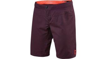 FOX Ripley pantalone corto da donna- pantalone shorts (Evo-fondello) . plum