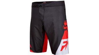 Fox Livewire pantalón corto(-a) Caballeros-pantalón Shorts (Comp-acolchado) rojo/negro
