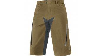GORE Bike Wear Alp-X pantalón corto(-a) Caballeros-pantalón MTB Shorts+ (Contest Pro Caballeros-acolchado) tamaño S olive