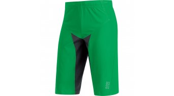 GORE BIKE WEAR Alp-X Pro nadrág rövid férfi-nadrág MTB Windstopper Soft Shell nadrág (ülepbetét nélkül) fresh green/black