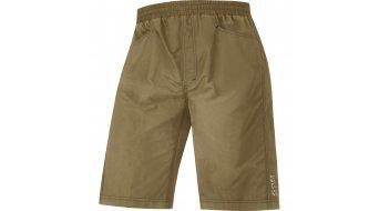GORE Bike Wear Countdown 2.0 Tour pantalón corto(-a) Caballeros-pantalón MTB Shorts+ (Element Caballeros-acolchado) olive