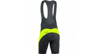 GORE Bike Wear Element Trägerhose kurz Herren-Trägerhose Bib Shorts+ (Element Men-Sitzpolster) Gr. S black/neon yellow